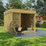 Studio de jardin : maison cube