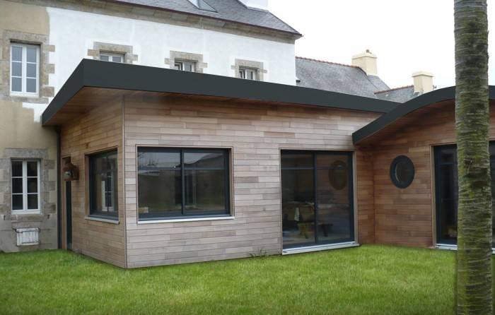 Extension Bois | Extension Maison et Maison Ossature Bois : une piece en plus