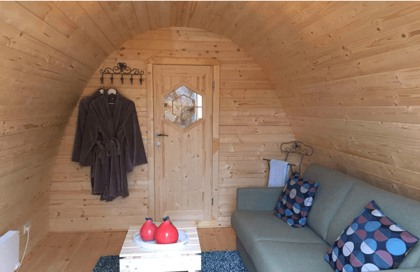 Pod : Chalet Bois pour camping, chambre d'hotes, gites