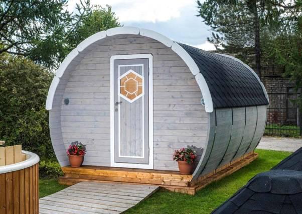 studio de jardin: Chalet Bois par TB Environnement