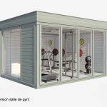 Studio de jardin : Salle de gym