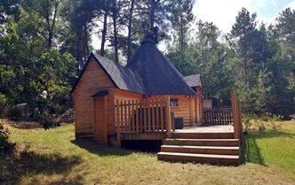 Chalet en bois habitable : le Kota